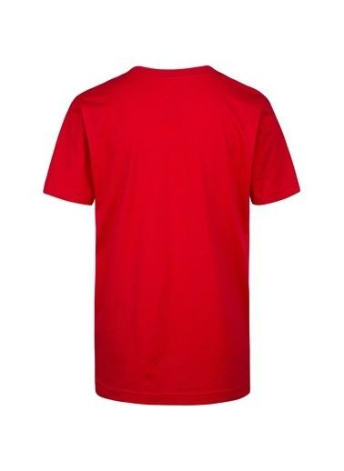 Nike Nike Baskılı Kırmızı T-Shirt Kırmızı